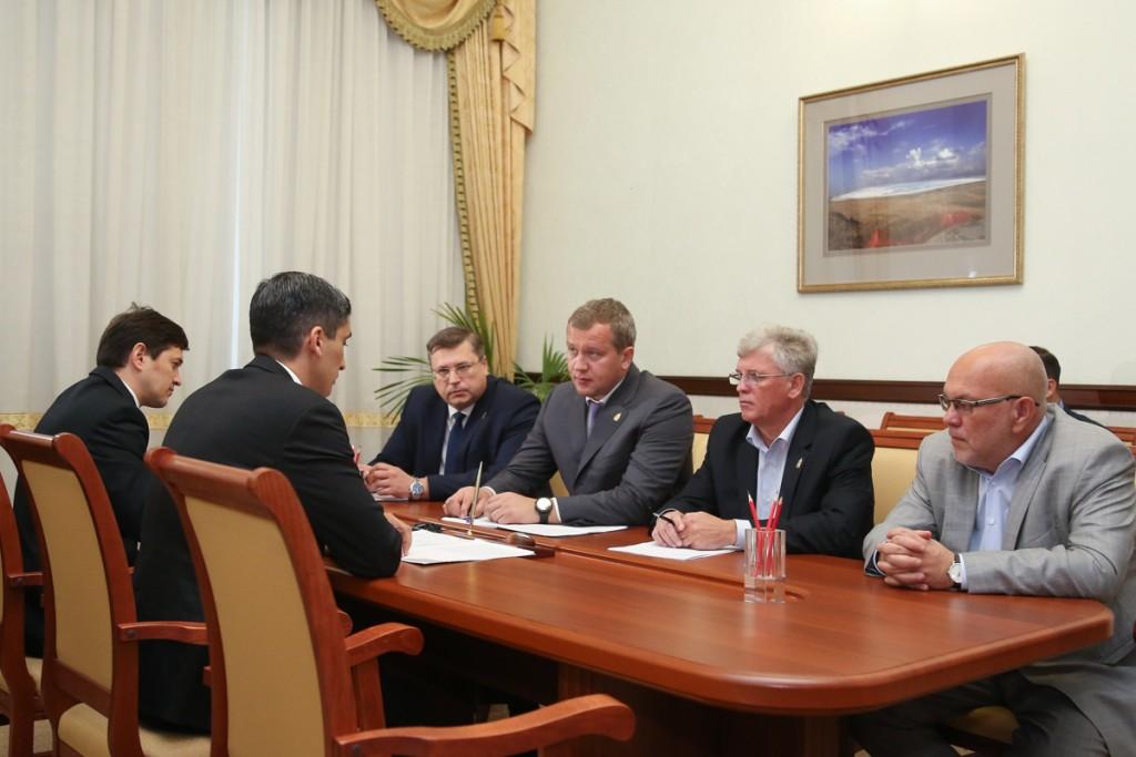 Сергея Морозова пригласили посетить Туркменистан