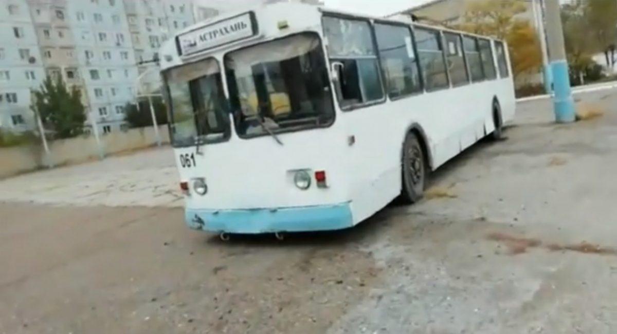 Астраханские троллейбусы: спустя год после прекращения движения