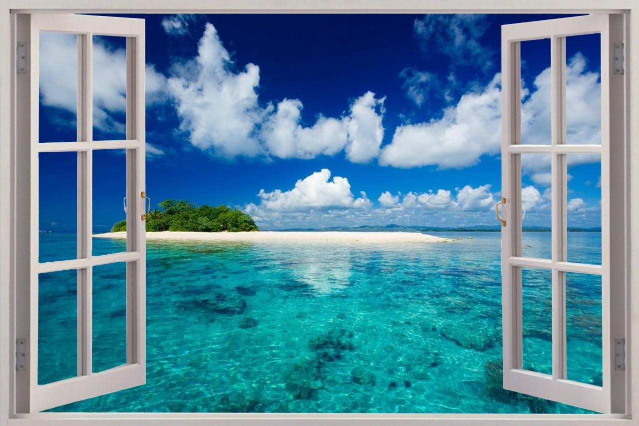 Постеры с видами из окна
