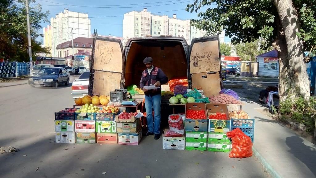 В микрорайоне Бабаевского вели борьбу с незаконной торговлей