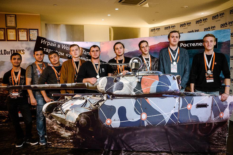 «Ростелеком» провел масштабный кибертурнир по игре «World of Tanks» в Астрахани