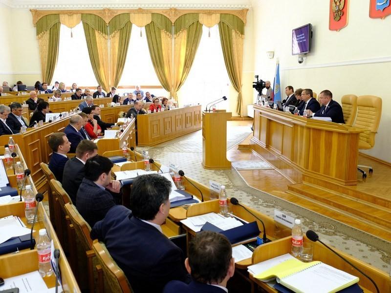 Областная дума проголосовала за бюджет региона на 2019 год