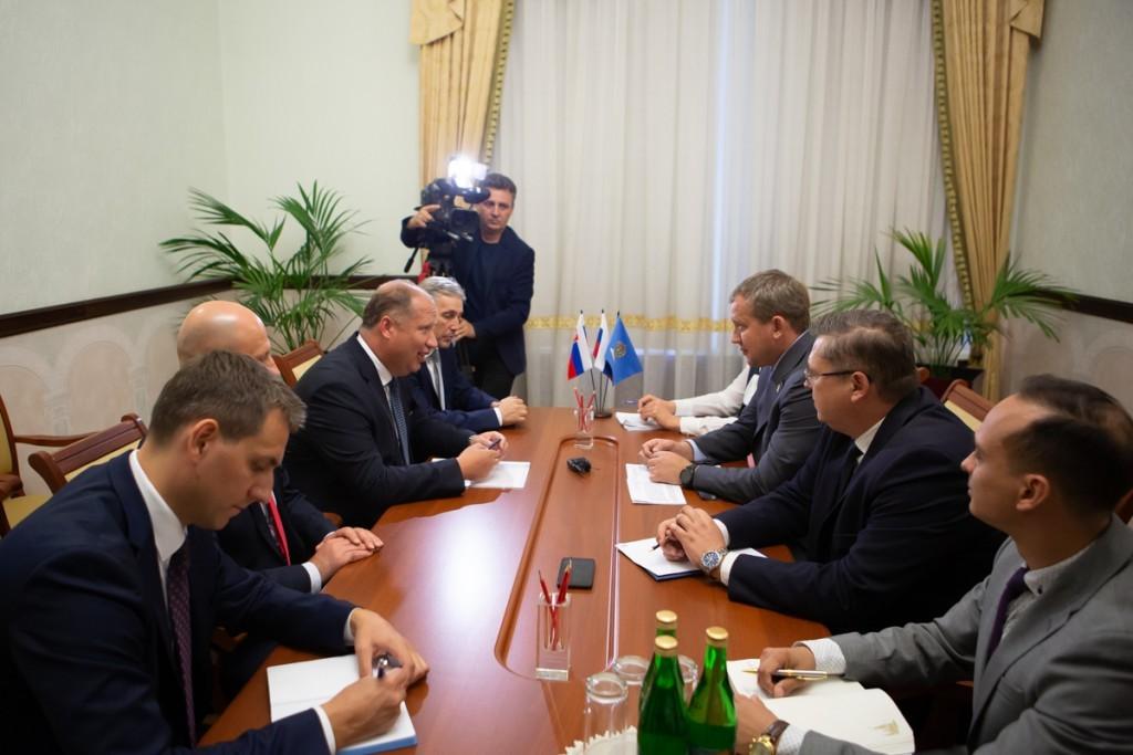 Сергей Морозов пригласил бизнес из Словакии в ОЭЗ «Лотос»