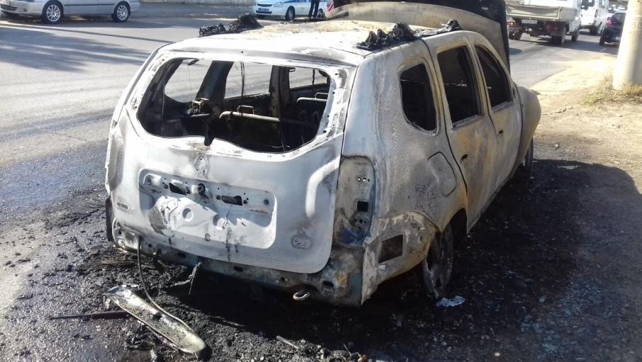 После ремонта в автомастерской сгорела машина астраханки