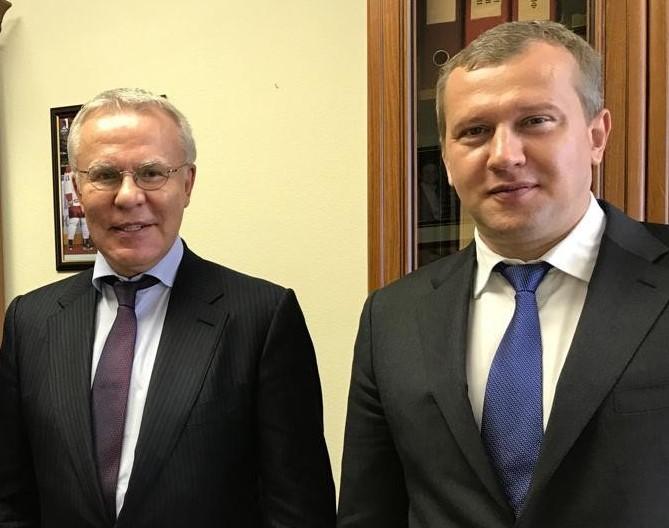 Сергей Морозов обсудил с Вячеславом Фетисовым перспективы строительства спортивных объектов для астраханцев