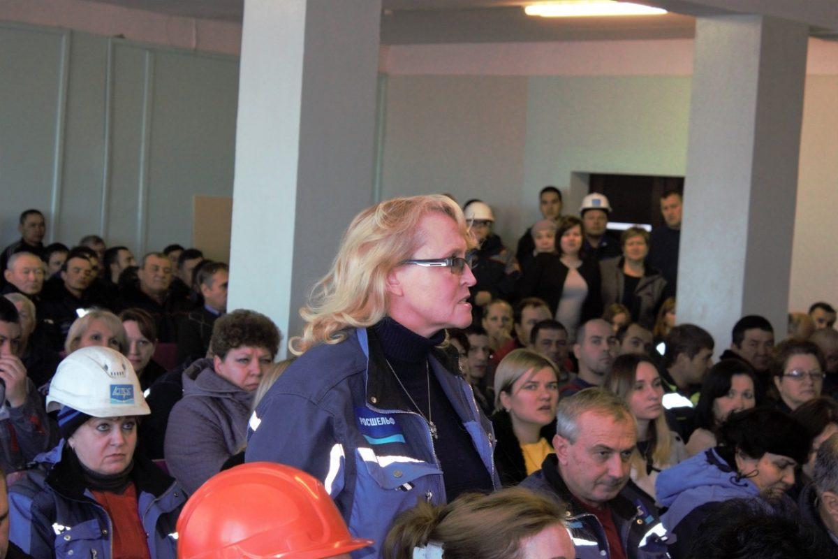 Работникам завода «Лотос» рассказали об оптимизации персонала