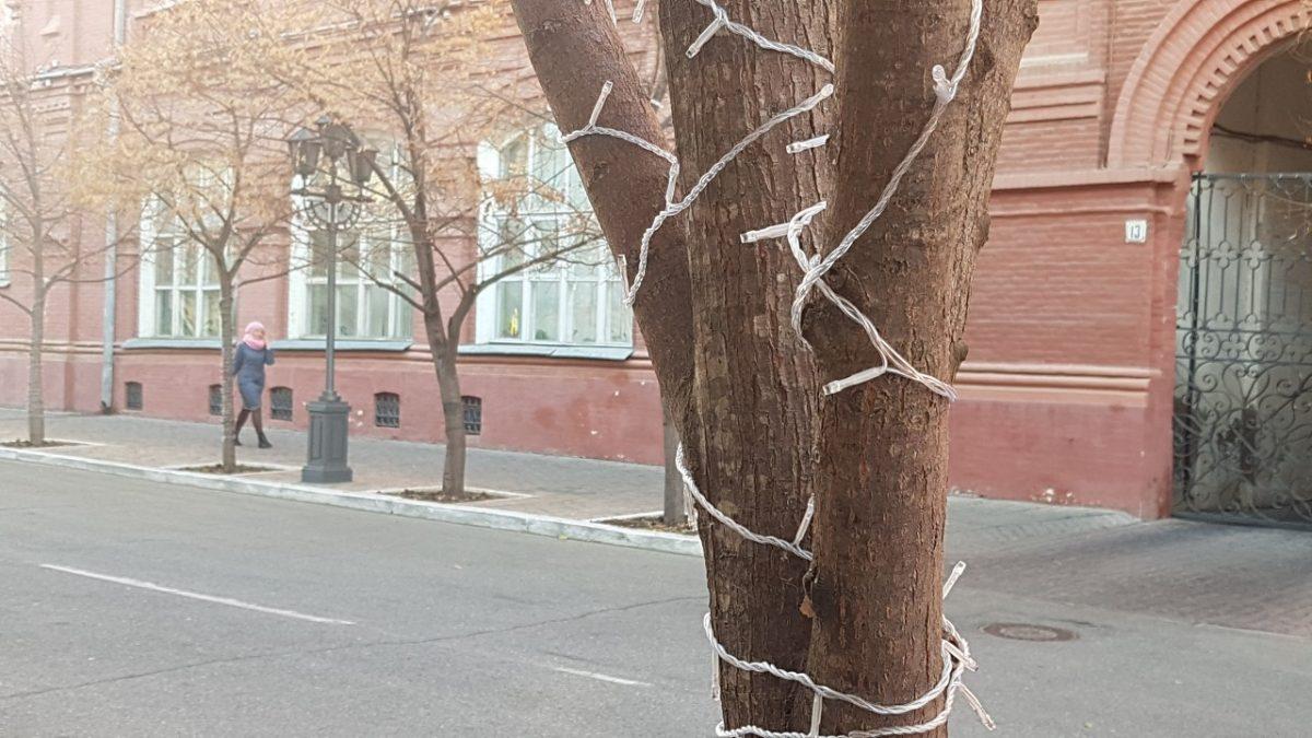 Фото дня: Астрахань начали украшать к Новому году