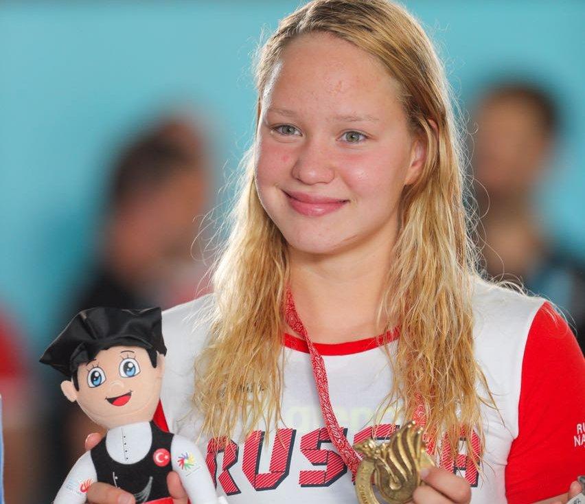 Астраханка Виктория Терентьева номинирована на звание «Лучшая спортсменка»