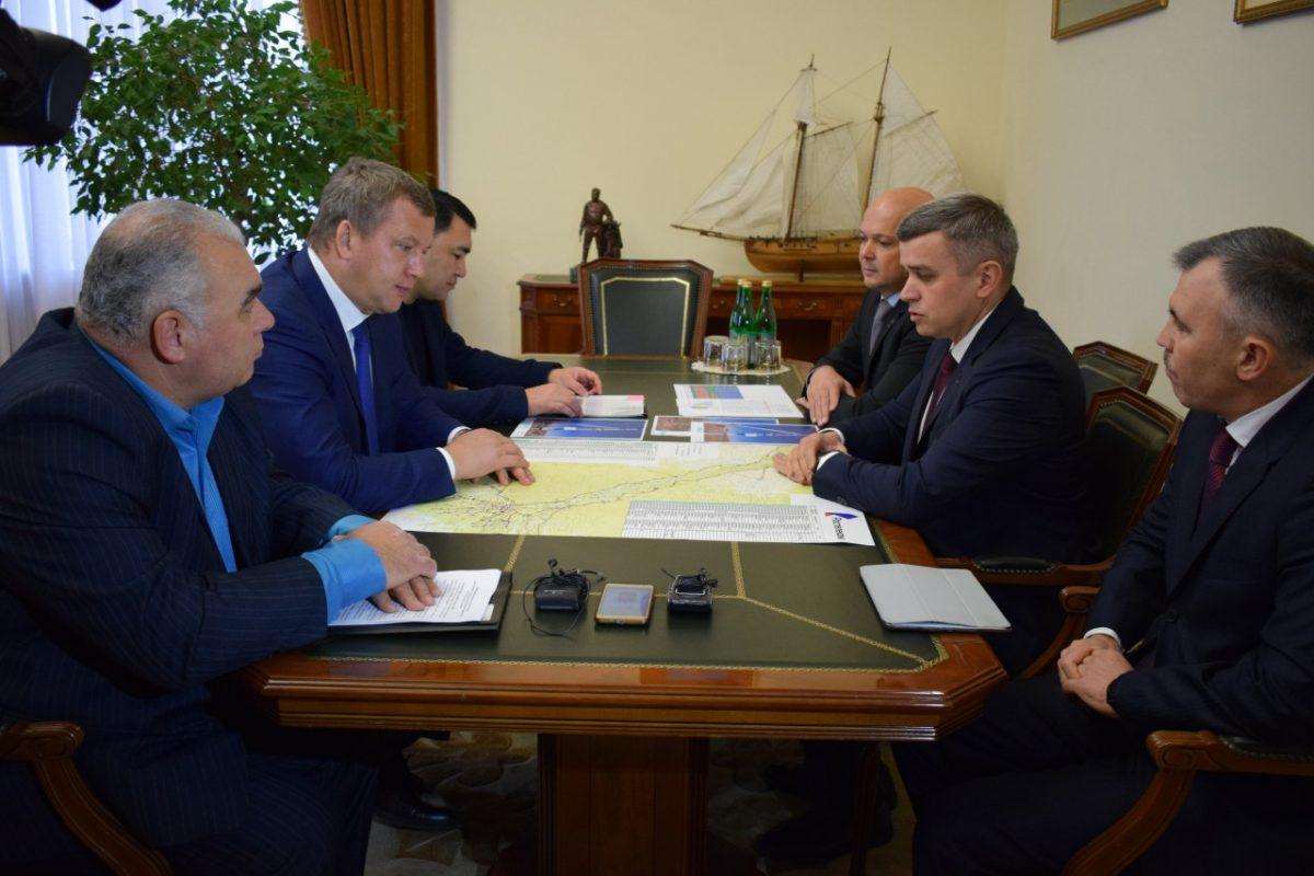 Денис Лысов и врио губернатора Астраханской области Сергей Морозов подвели промежуточные итоги цифровизации региона