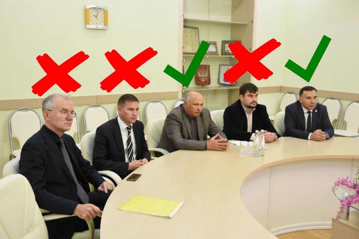 Выбирать главу горадминистрации будут между Андреем Бодаговским и Радиком Харисовым