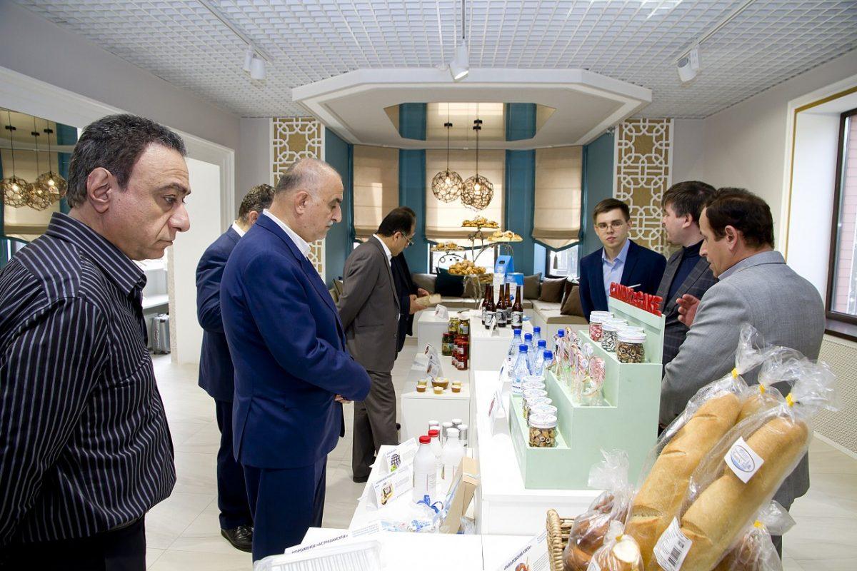 Товары под астраханским брендом презентованы иранскому бизнесу