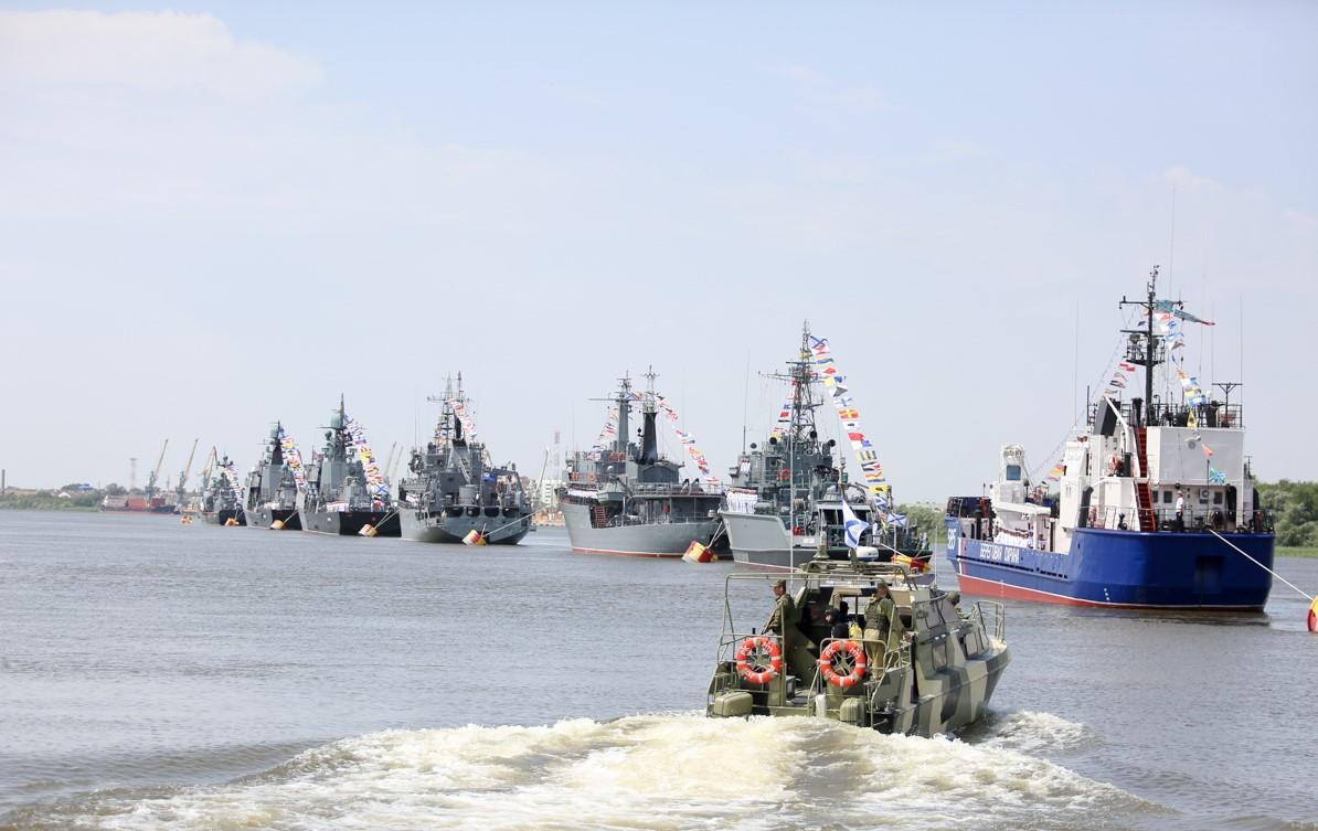 Астрахань вошла в число городов с лучшим военно-морским парадом