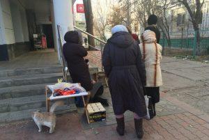 В Астрахани пенсионерка скончалась около супермаркета