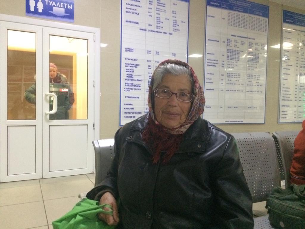 Пенсионерка из Крыма проспала остановку и проснулась в Астрахани