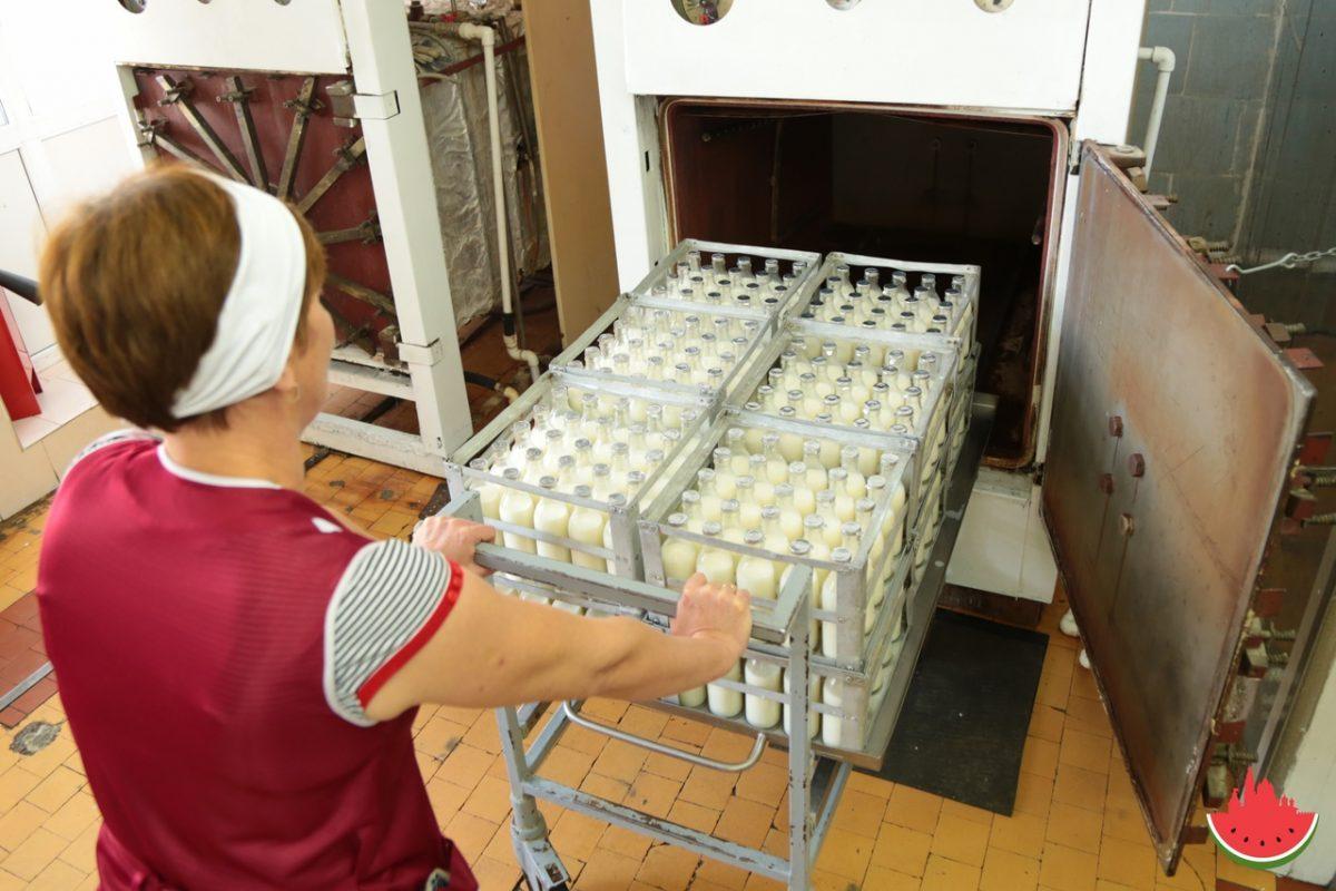 Продукция астраханской молочной кухни прошла проверку на безопасность