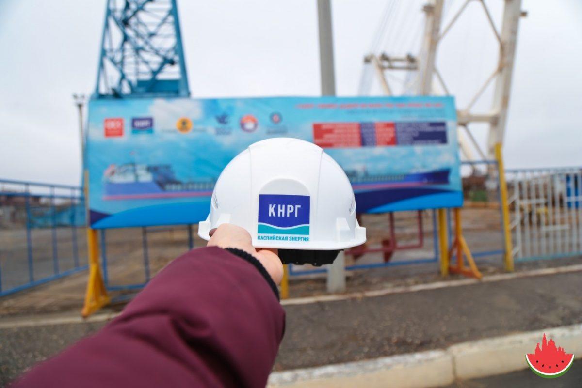 Как в Астрахани рождаются два танкера-химовоза
