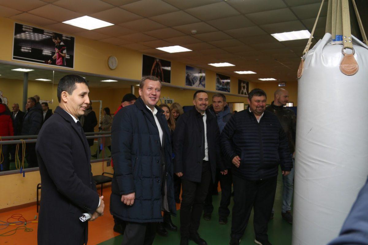Сергей Морозов посетил Приволжский район
