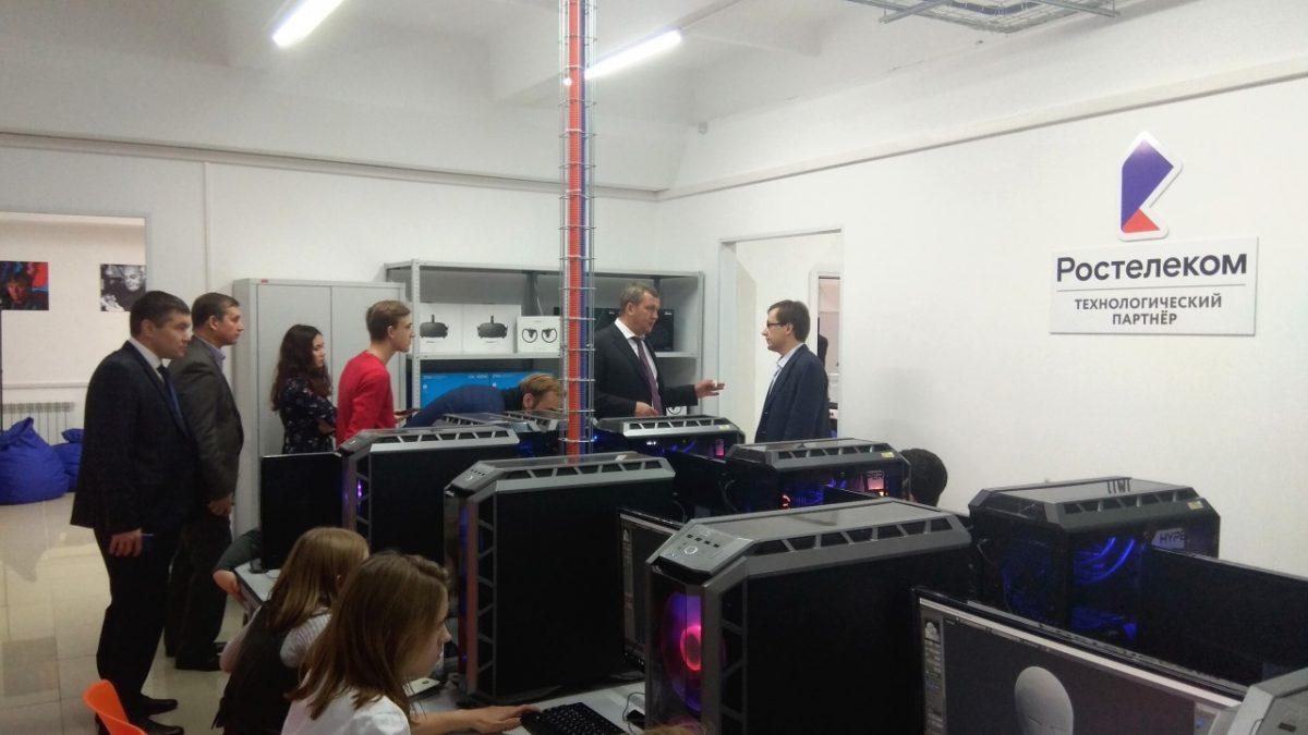 «Ростелеком» в Астрахани принял участие в открытии уникального детского технопарка «Кванториум»