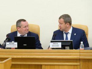 Глава региона Сергей Морозов поддержал уменьшение числа депутатов Думы Астраханской области
