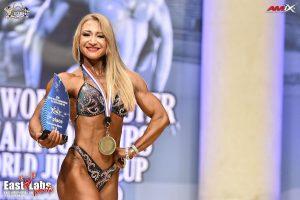 Астраханка стала чемпионкой мира по бодифитнесу