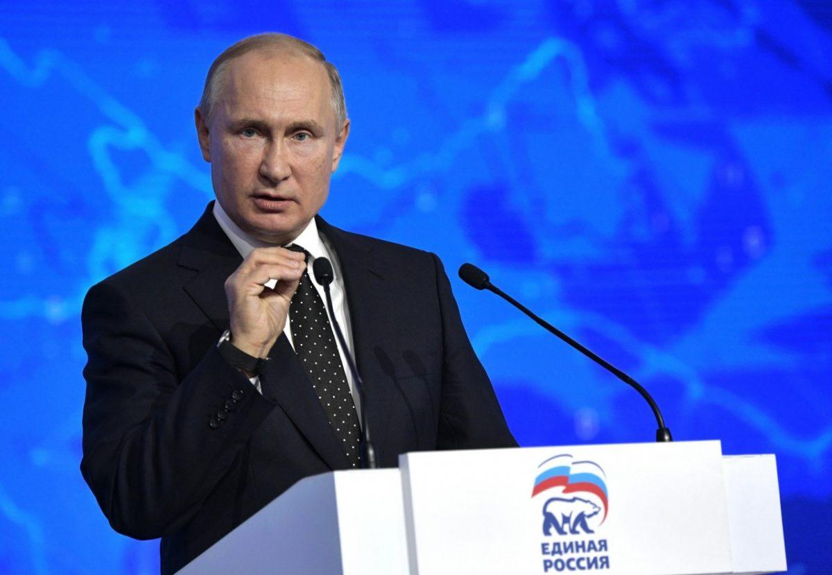 Владимир Путин призвал единороссов не хамить людям