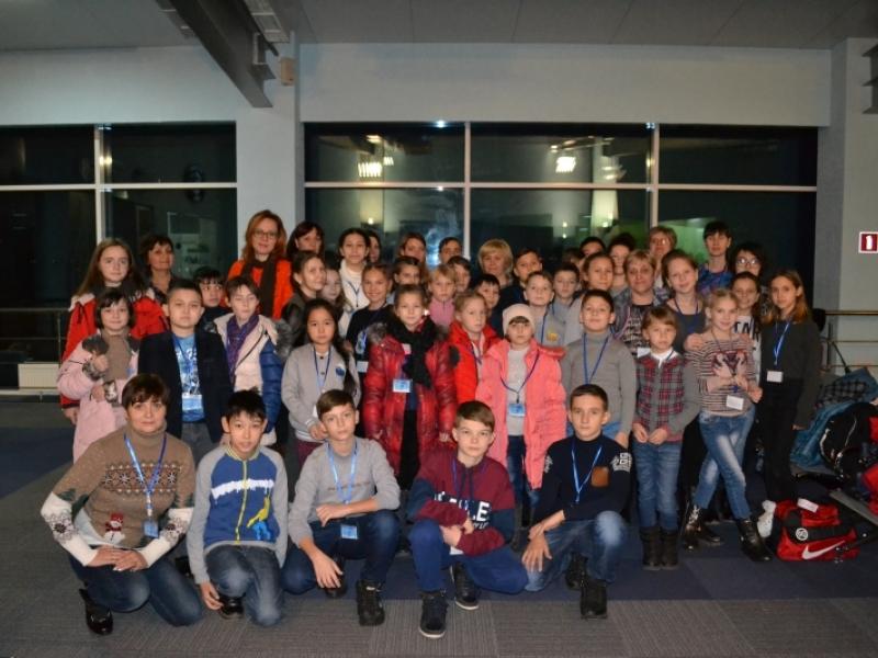 Юные астраханцы отправились на Кремлевскую елку
