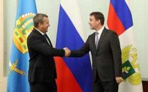 Власти Астраханской области доложили министру сельского хозяйства об успехах