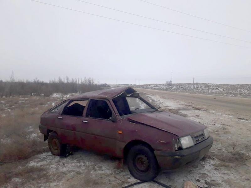 Астраханский водитель перевернул машину и отправил пассажира в кому
