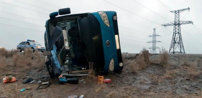 Под Астраханью пострадали пятеро охранников газоперерабатывающего завода