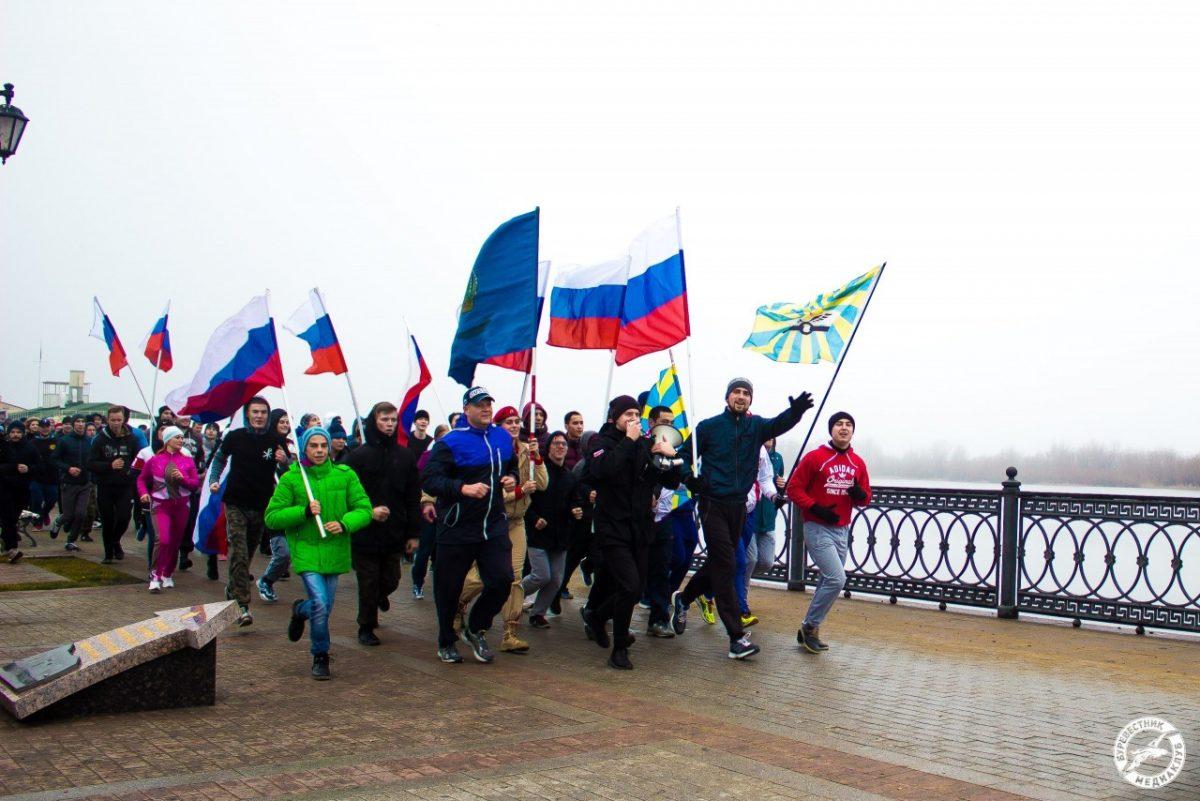 Астраханцев утром 1 января зовут на пробежку