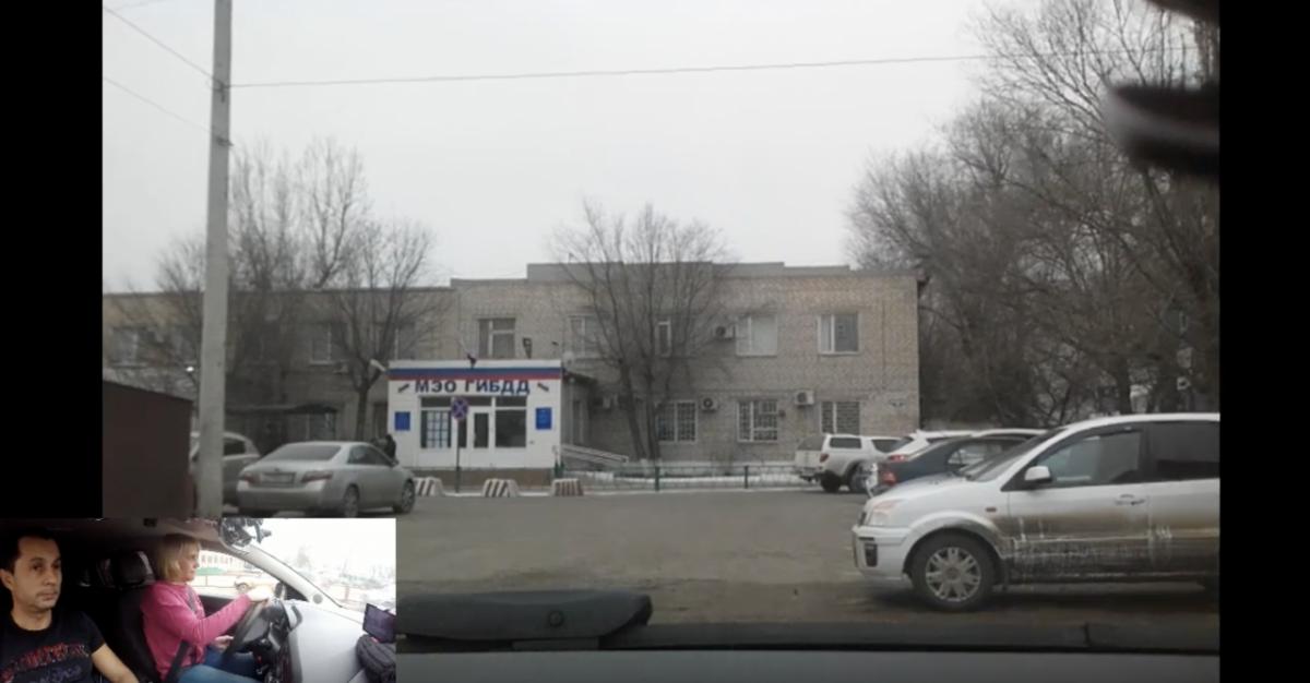 Астраханец выкладывает прохождение экзамена ГАИ по городу на Youtube