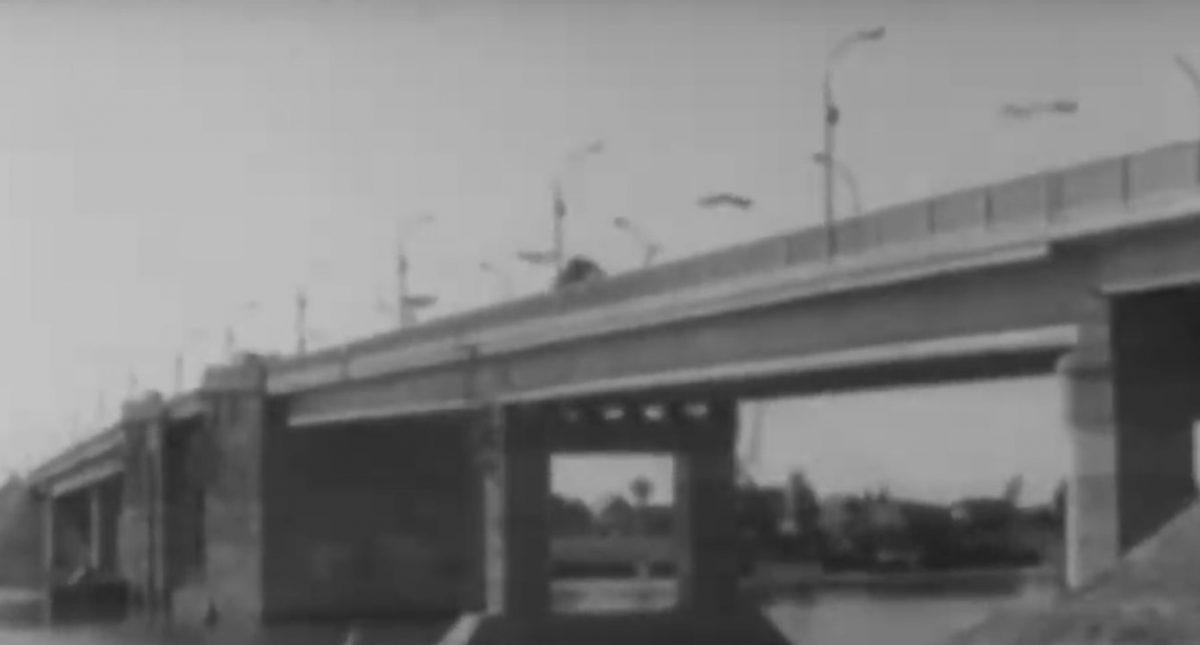 Архивное видео: открытие Кирикилинского моста в 1965 году