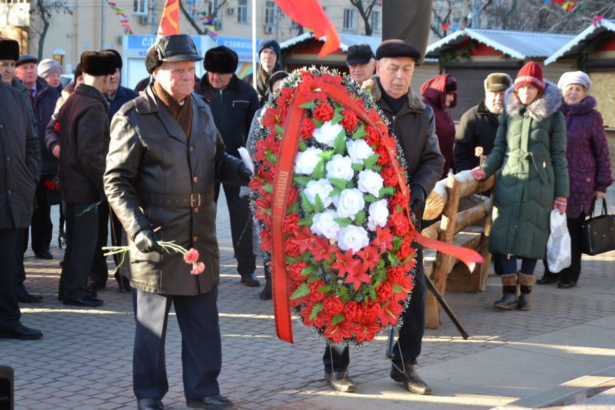 Астраханские коммунисты вспомнили Ленина