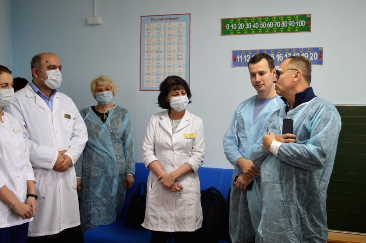 Весной в больнице имени Н.Н. Силищевой будет дан старт проекту «УчимЗнаем»