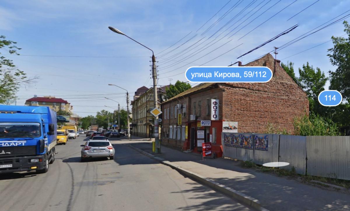 В центре Астрахани 12 лет сносят аварийный дом