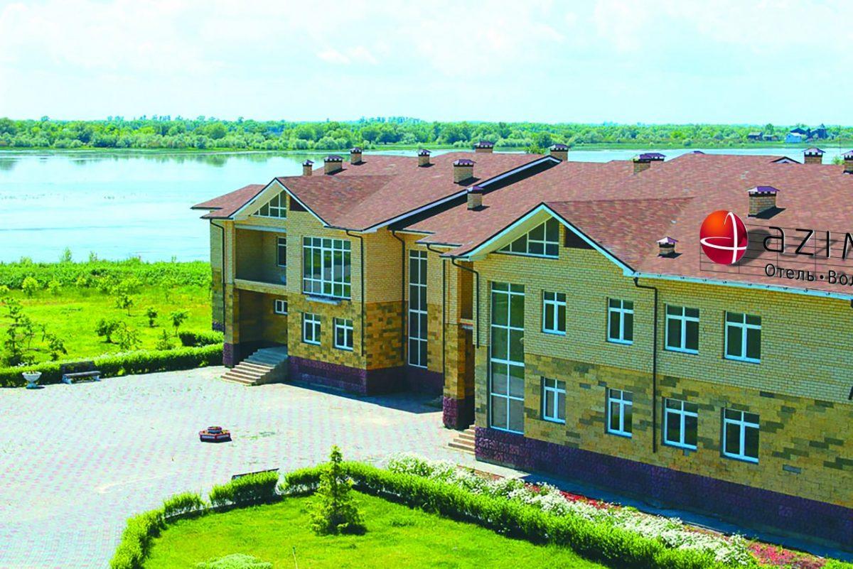 На острове в Астраханской области открывается отель