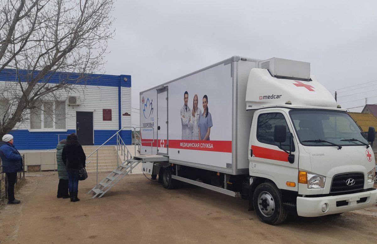 Мобильную медицинскую помощь получили почти 80 тысяч астраханцев
