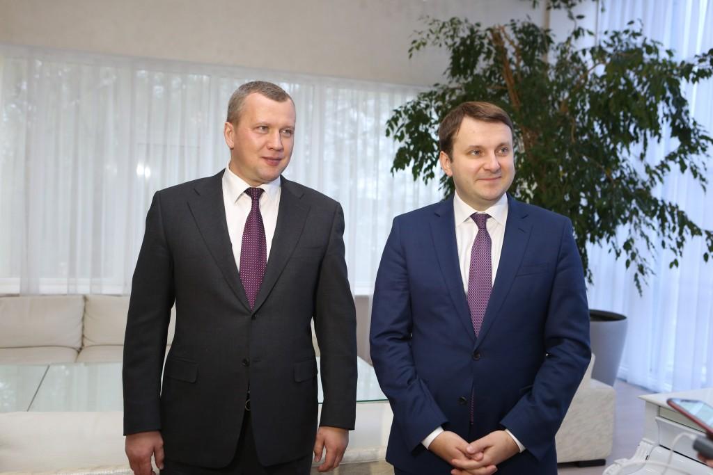 Министр экономического развития РФ увидел большой потенциал в Астраханской области