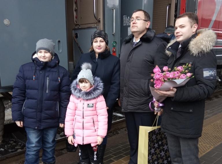 «Дневной экспресс» Волгоград – Астрахань перевез 500 тысячного пассажира