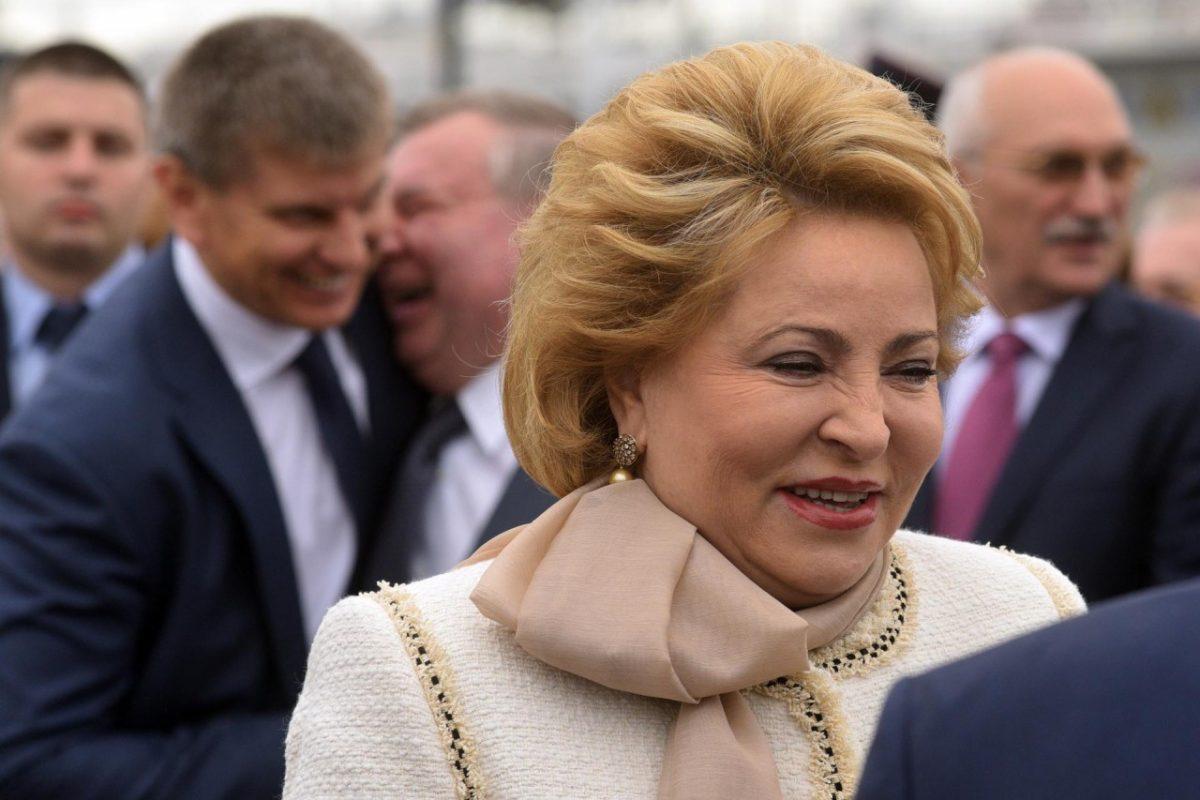 Валентина Матвиенко предложила сенаторам переплыть Волгу