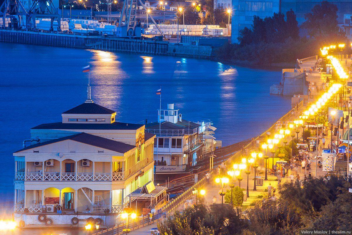 В Астрахани могут построить канатную дорогу через Волгу