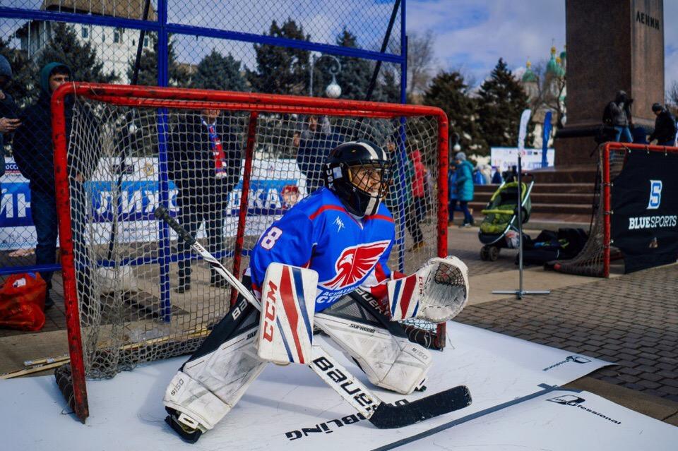 На площади Ленина прошел второй этап Дня зимних видов спорта