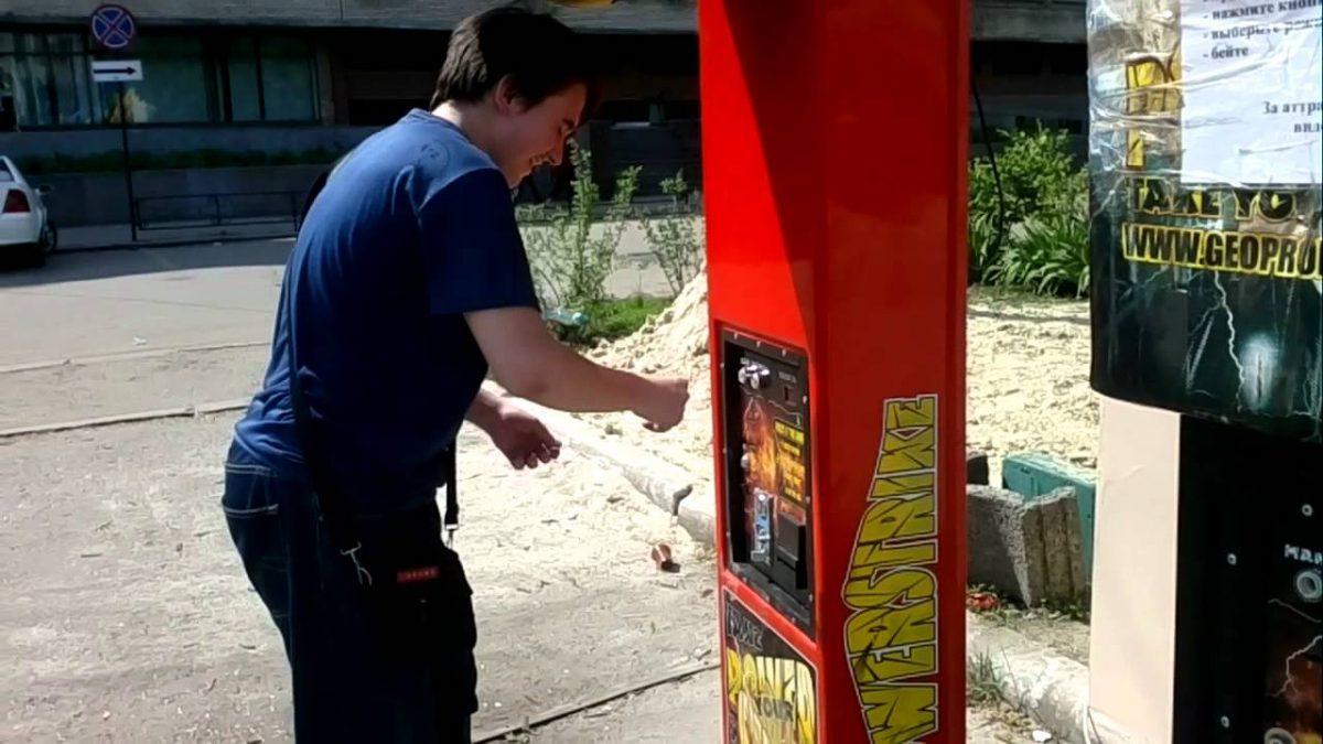 В Астрахани вскрыли уличные игровые автоматы