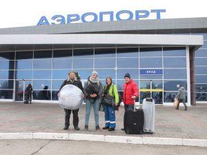 Greenpeace снимает в Астраханском заповеднике рекламу против пожаров