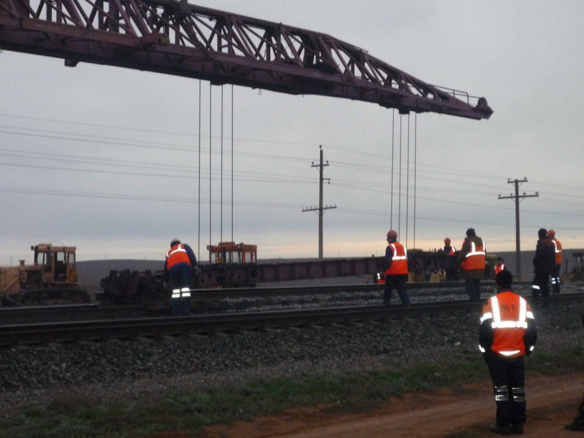 Более 75 км пути отремонтируют в Астраханском регионе Приволжской железной дороги