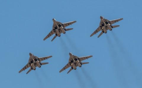 Полеты «Стрижей» и «Русских витязей» в Астрахани покажут дважды