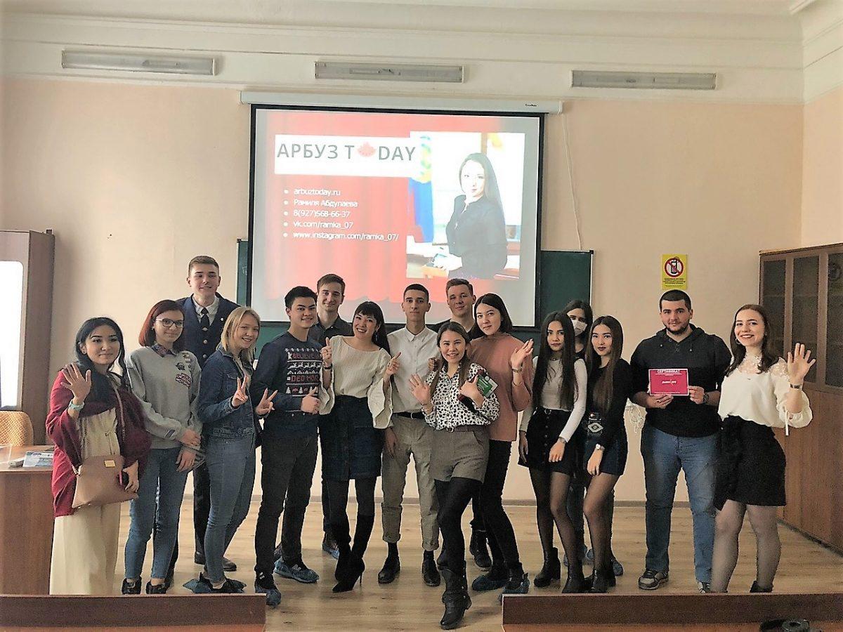 Команда «Арбуза» рассказала студентам о работе интернет-СМИ