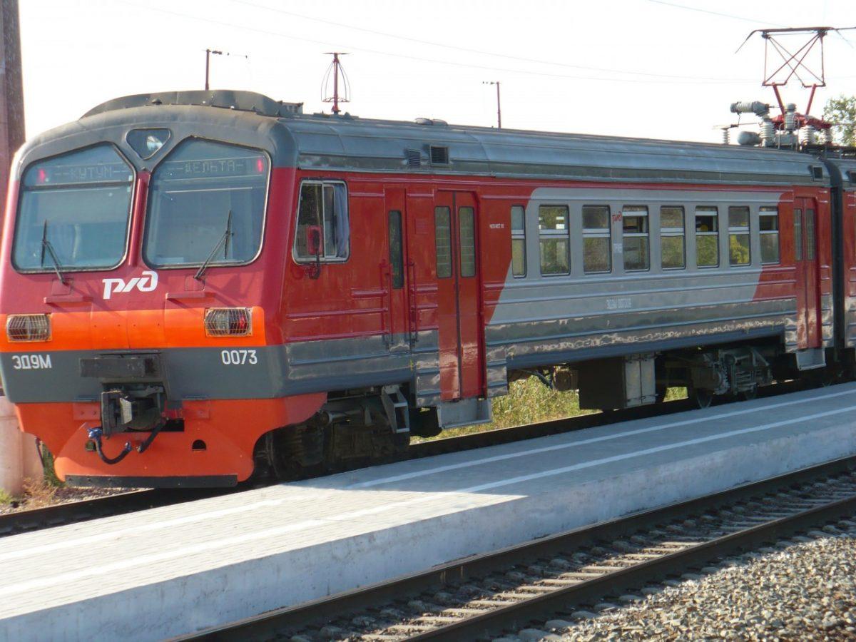 Возобновляется курсирование пригородного электропоезда Кутум – Дельта – Кутум