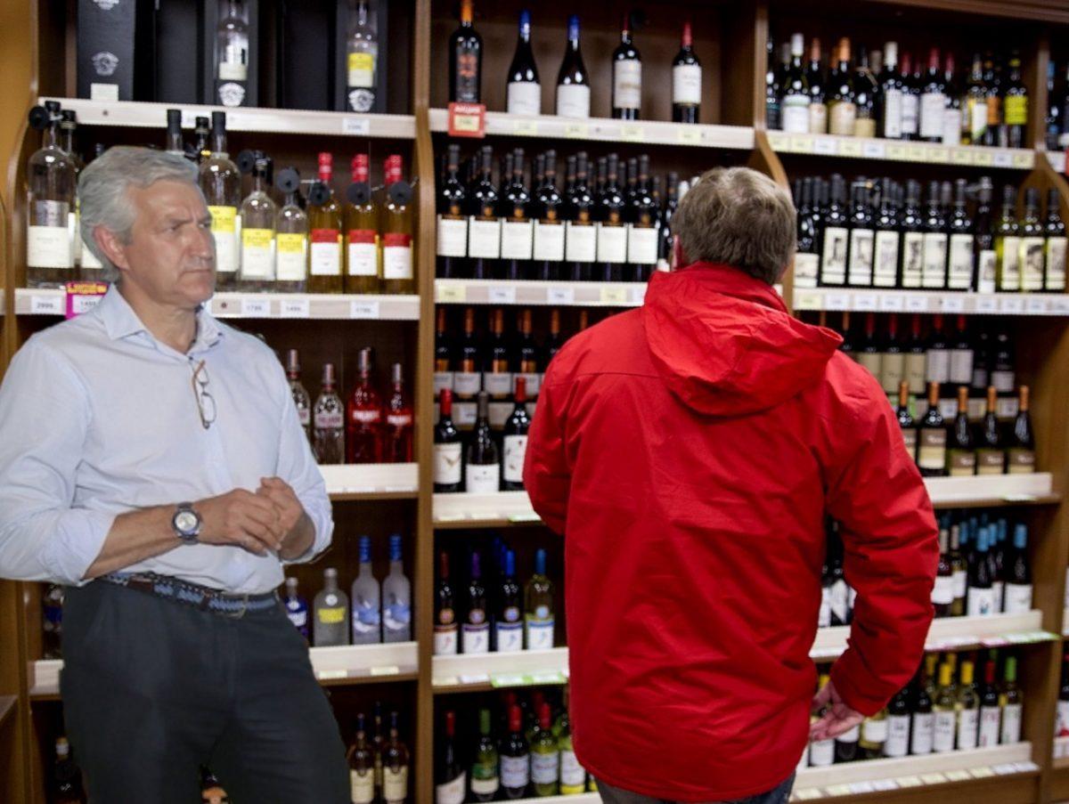 Минздрав поддержал идею Леонида Огуля убрать с полок магазинов алкоголь