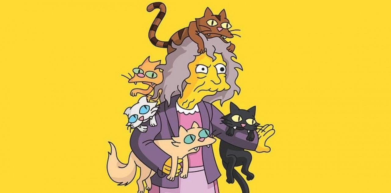 семье картинка кошатницы из симпсонов хозяйки уже полюбили